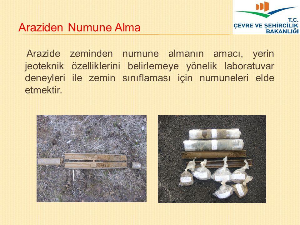 Araziden Numune Alma