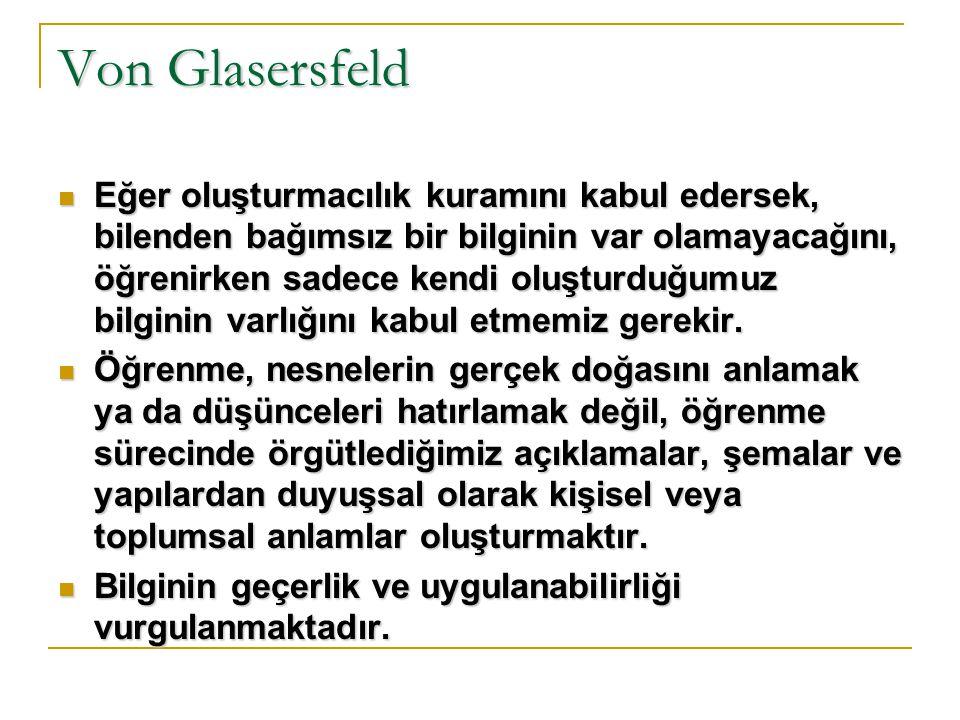 Von Glasersfeld