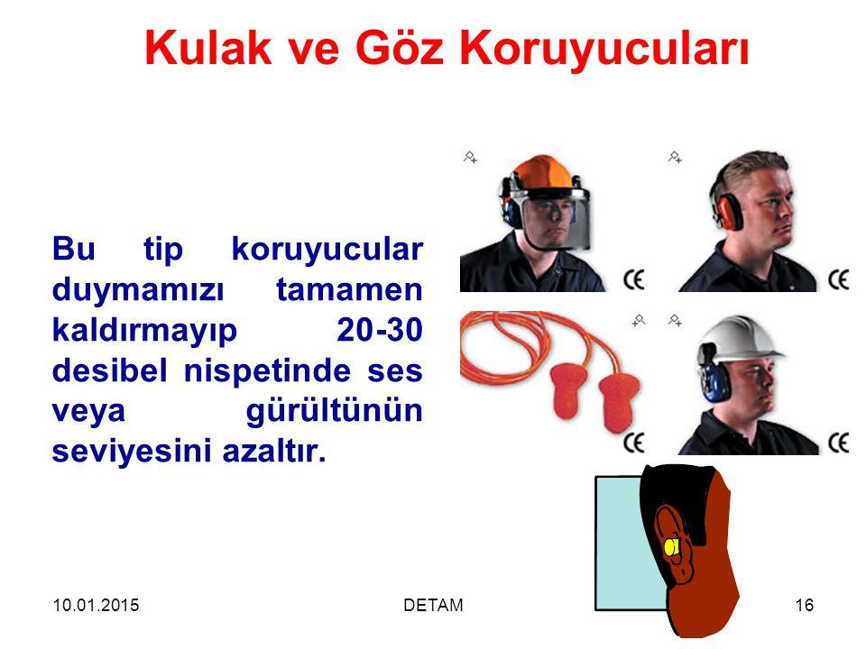 Kulak ve Göz Koruyucuları