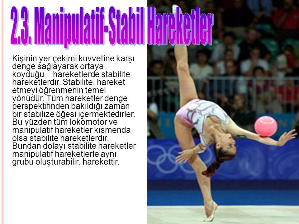 2.3. Manipulatif-Stabil Hareketler