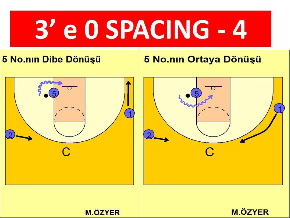 3' e 0 SPACING - 4