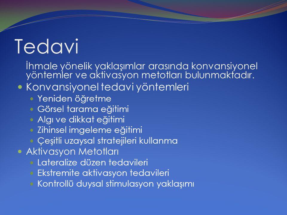 Tedavi Konvansiyonel tedavi yöntemleri