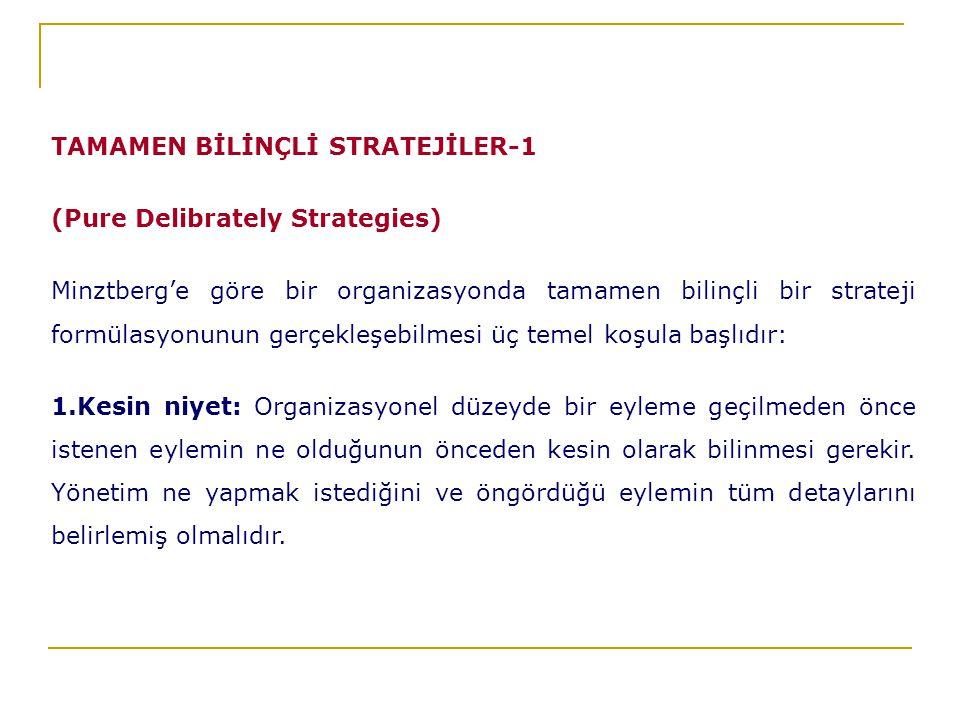 TAMAMEN BİLİNÇLİ STRATEJİLER-1