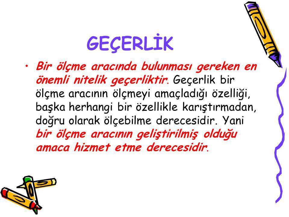 GEÇERLİK