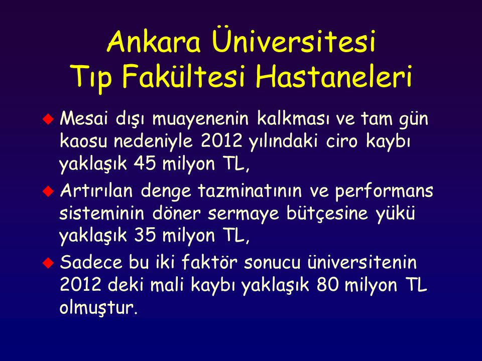 Ankara Üniversitesi Tıp Fakültesi Hastaneleri