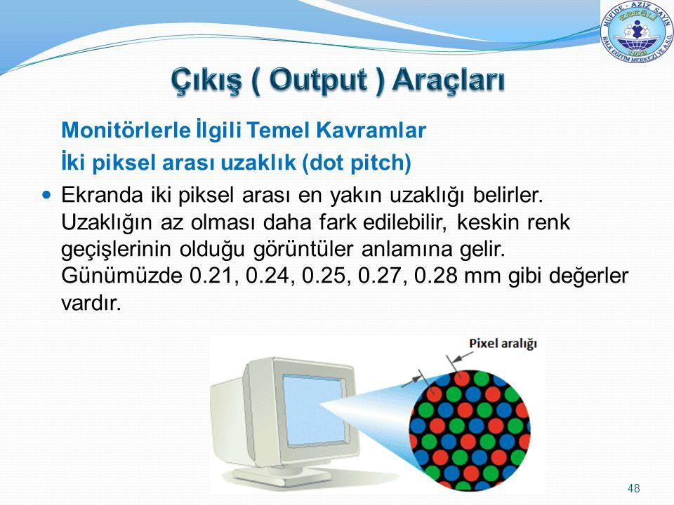 Çıkış ( Output ) Araçları