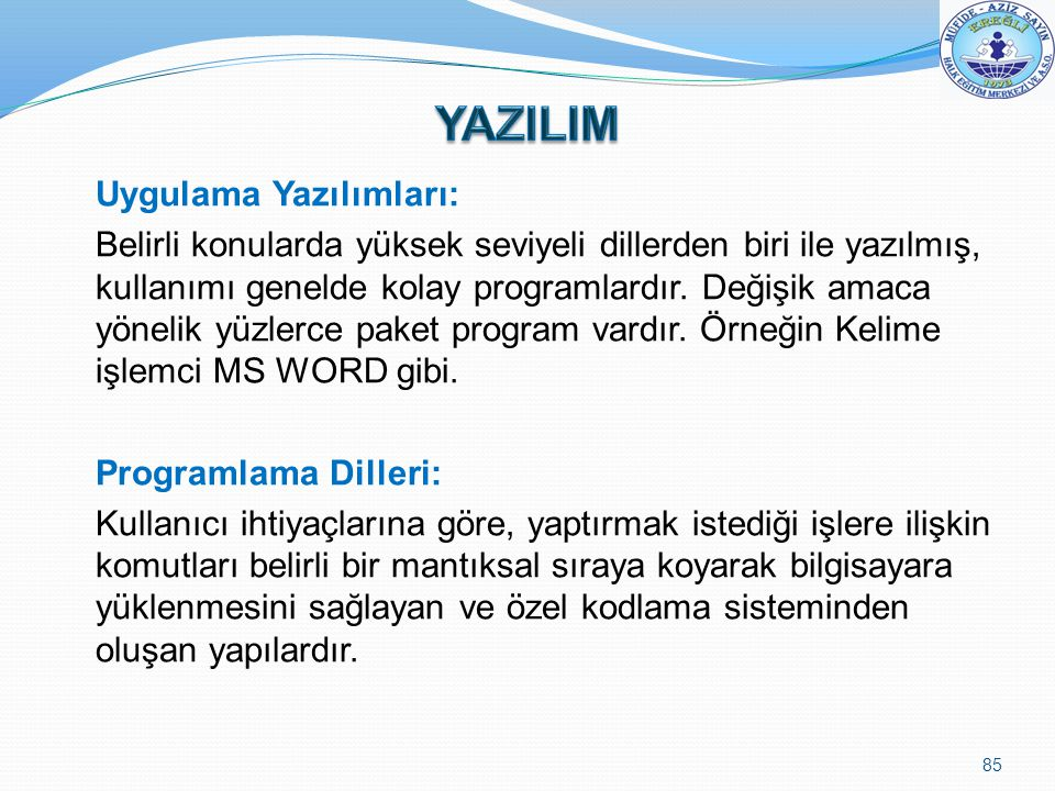 YAZILIM