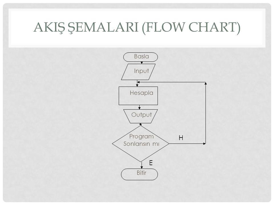 AkIş ŞemalarI (Flow Chart)