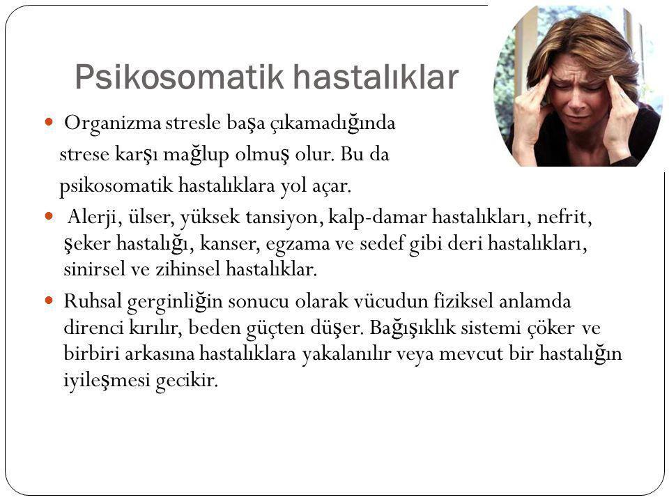 Psikosomatik hastalıklar