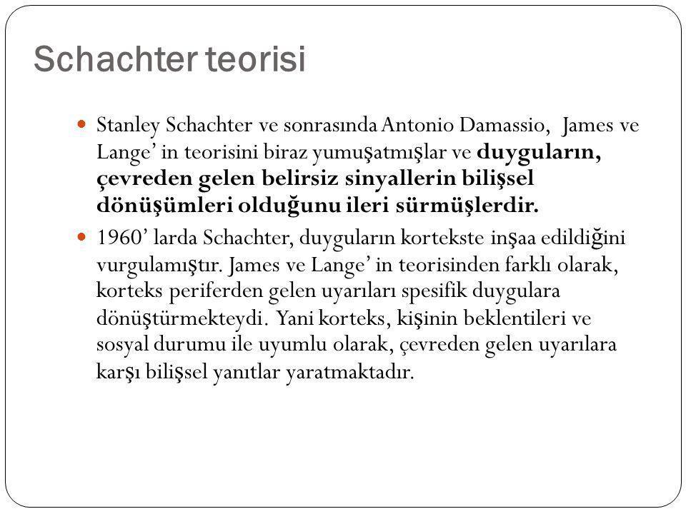Schachter teorisi