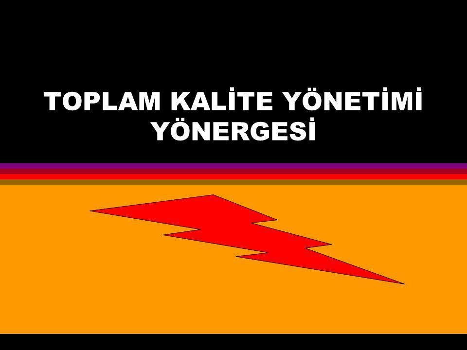 TOPLAM KALİTE YÖNETİMİ YÖNERGESİ