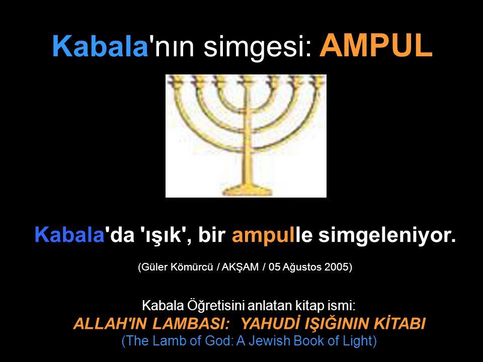 Kabala nın simgesi: AMPUL