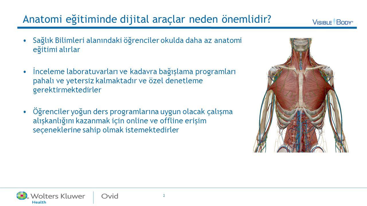 Anatomi eğitiminde dijital araçlar neden önemlidir