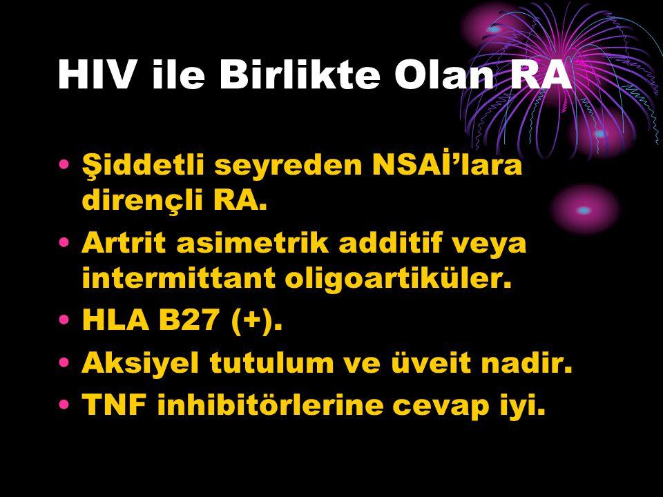 HIV ile Birlikte Olan RA