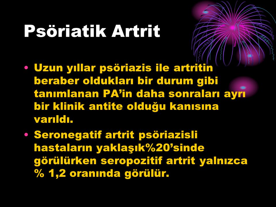 Psöriatik Artrit