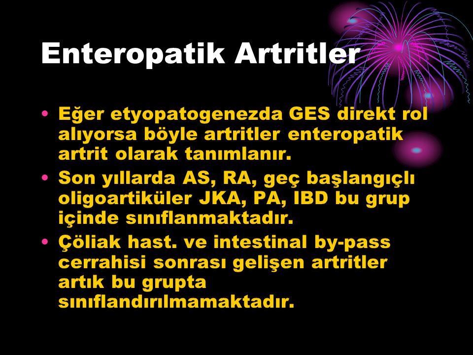 Enteropatik Artritler