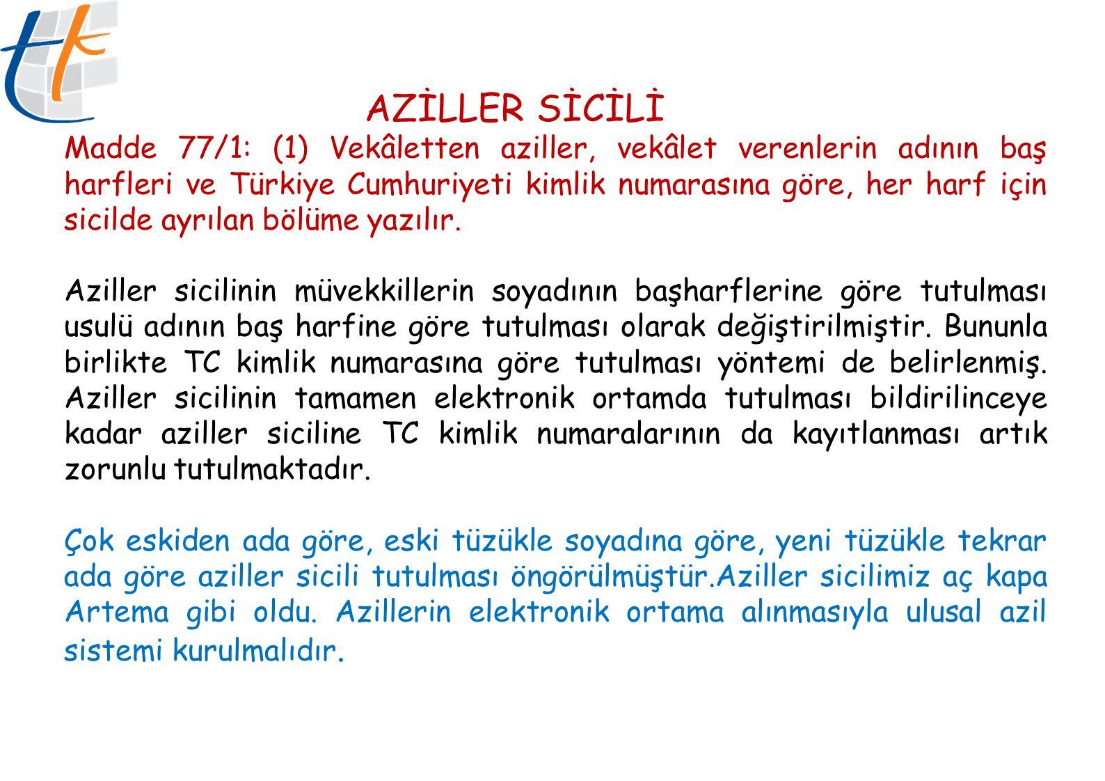 AZİLLER SİCİLİ