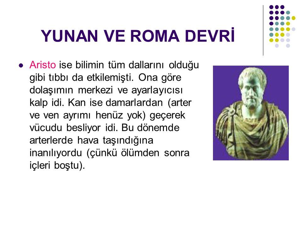 YUNAN VE ROMA DEVRİ