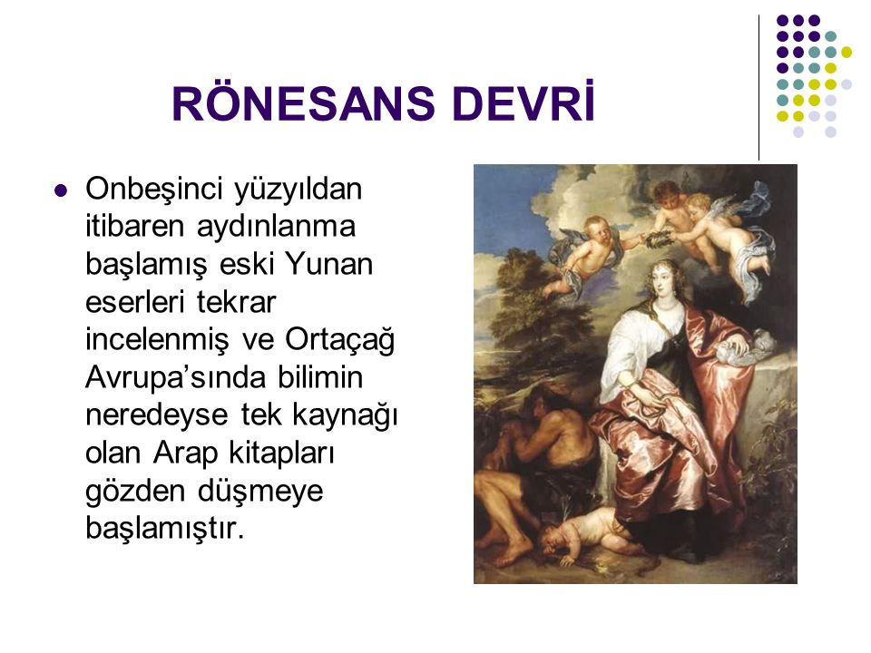 RÖNESANS DEVRİ