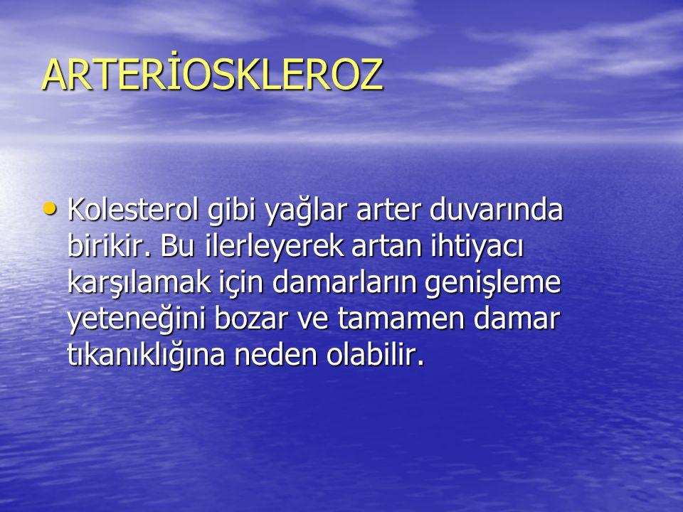 ARTERİOSKLEROZ