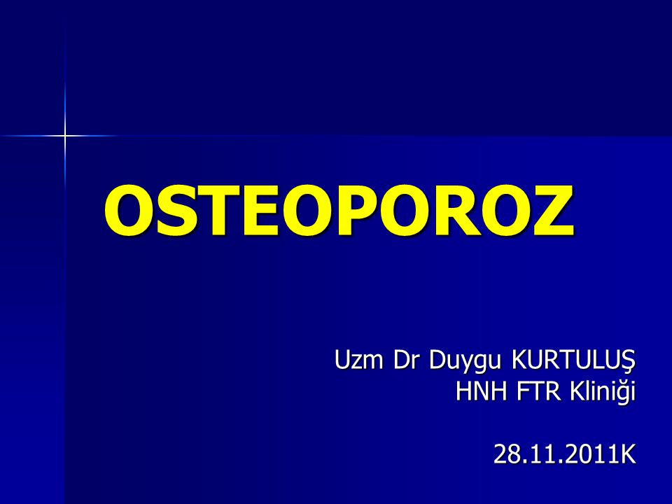 Uzm Dr Duygu KURTULUŞ HNH FTR Kliniği 28.11.2011K