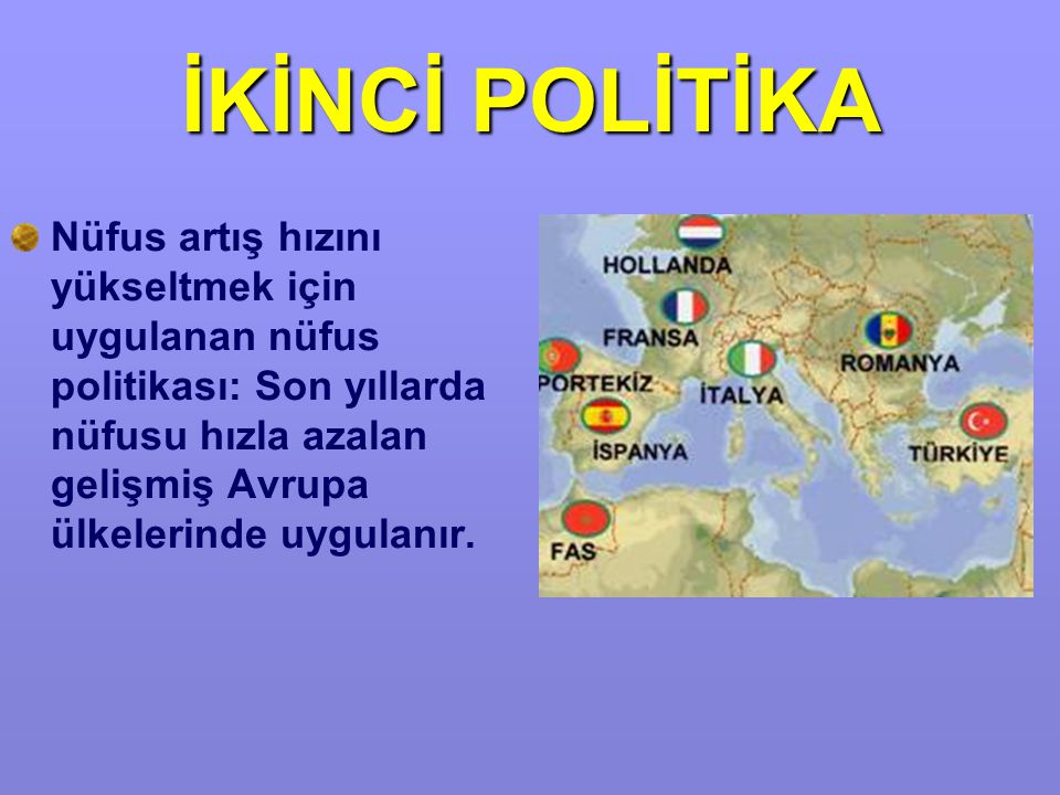 İKİNCİ POLİTİKA