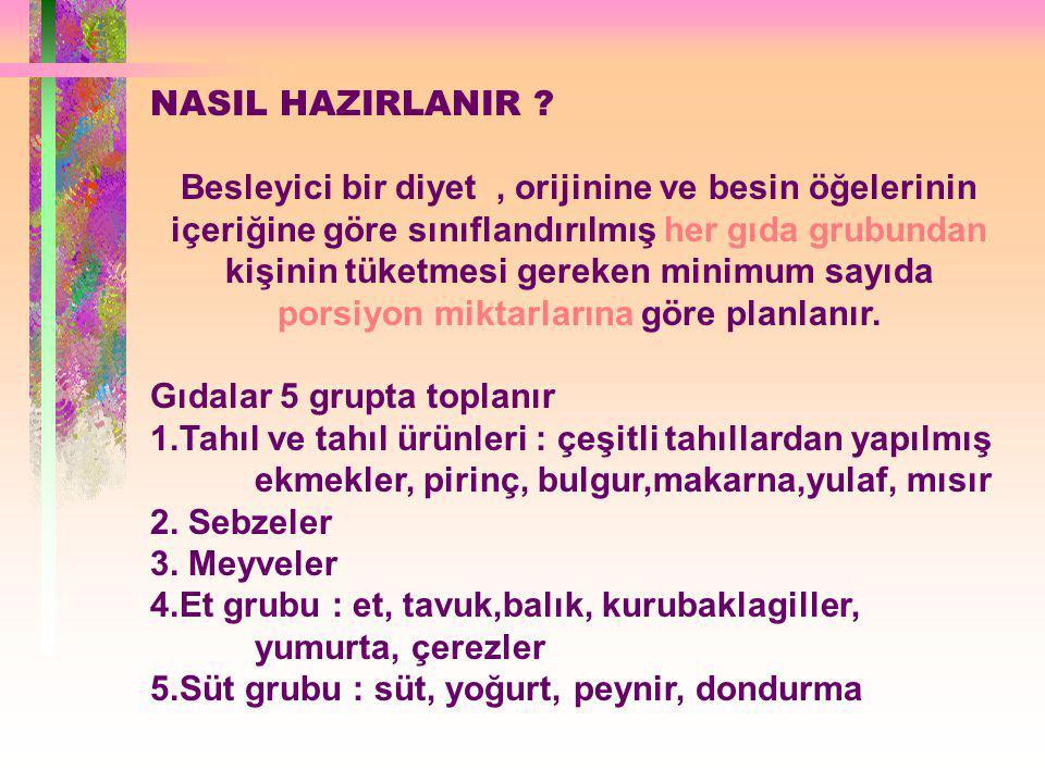 NASIL HAZIRLANIR
