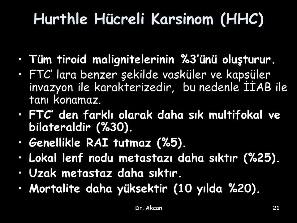 Hurthle Hücreli Karsinom (HHC)