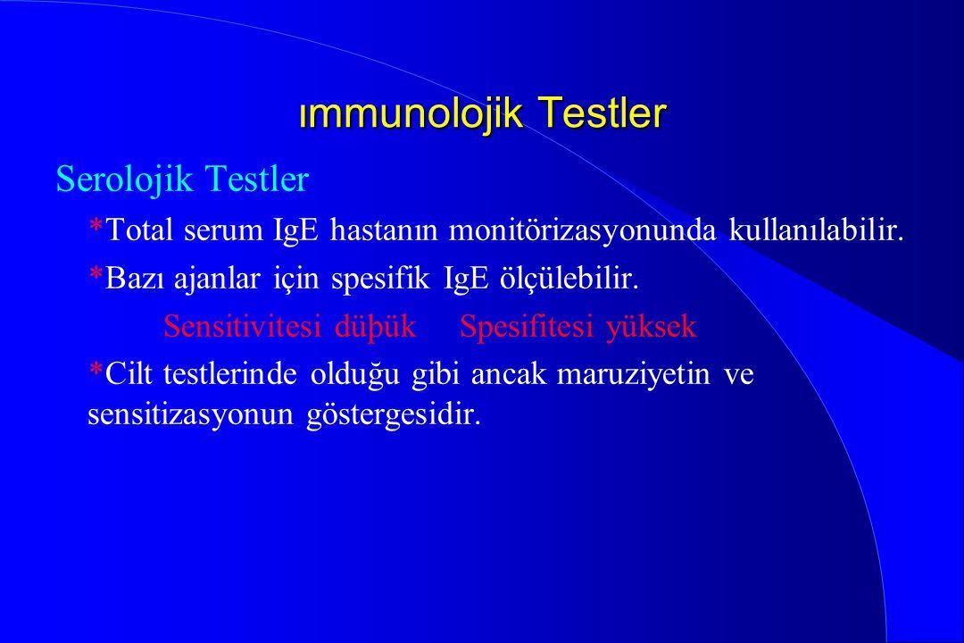 ımmunolojik Testler Serolojik Testler