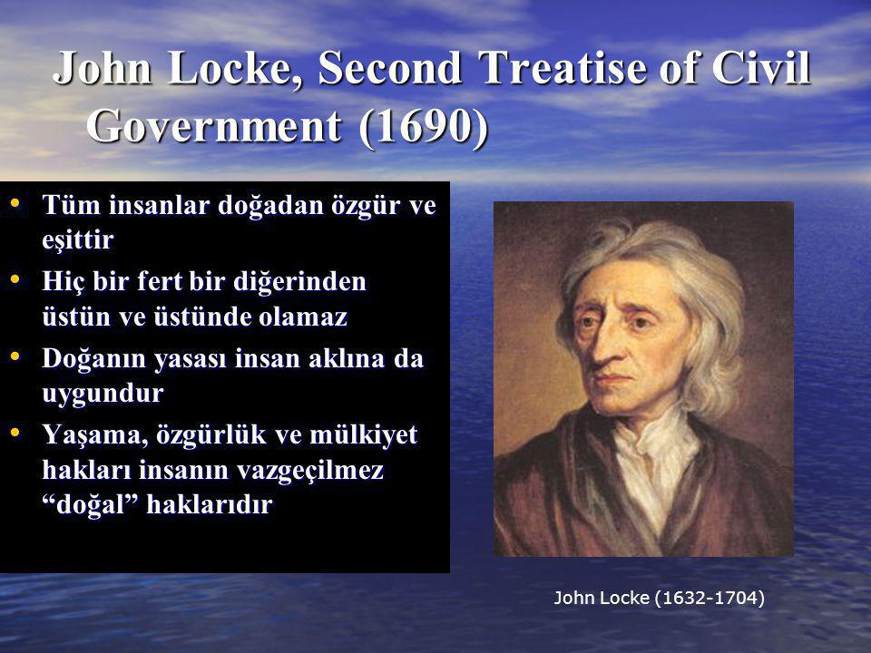 John Locke, Second Treatise of Civil Government (1690)