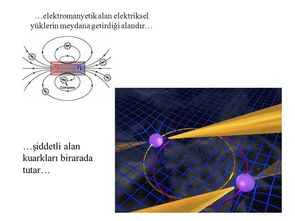 …elektromanyetik alan elektriksel yüklerin meydana getirdiği alandır…
