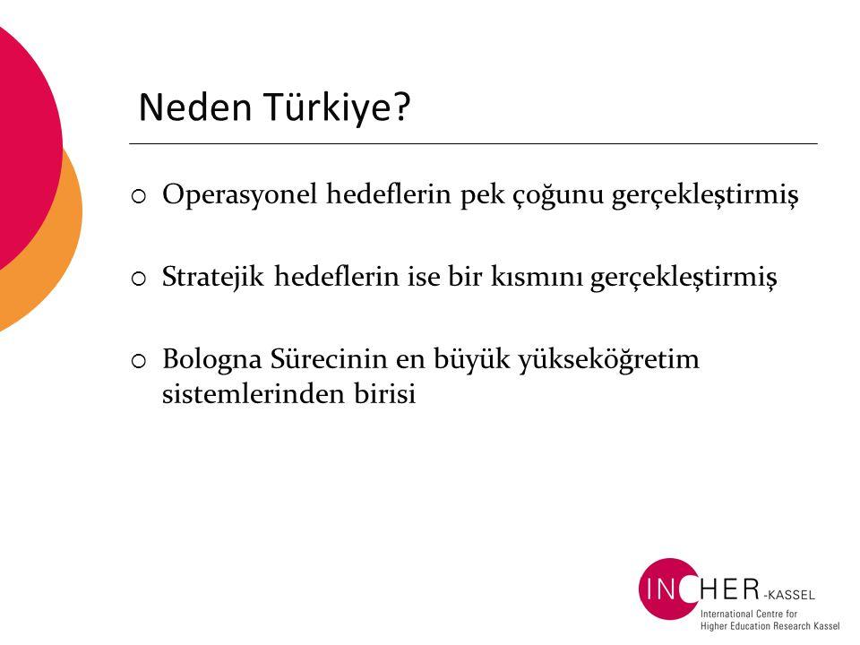 Neden Türkiye Operasyonel hedeflerin pek çoğunu gerçekleştirmiş
