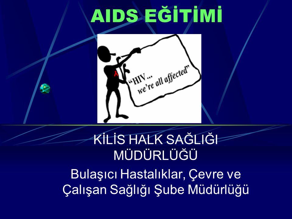 AIDS EĞİTİMİ KİLİS HALK SAĞLIĞI MÜDÜRLÜĞÜ