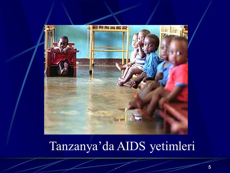 Tanzanya'da AIDS yetimleri