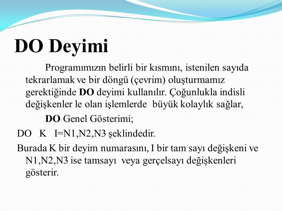 DO Deyimi