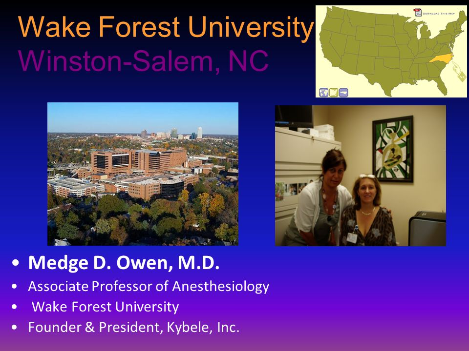 Wake Forest University Winston-Salem, NC
