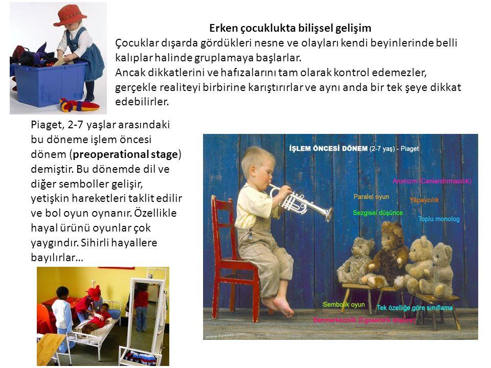 Erken çocuklukta bilişsel gelişim