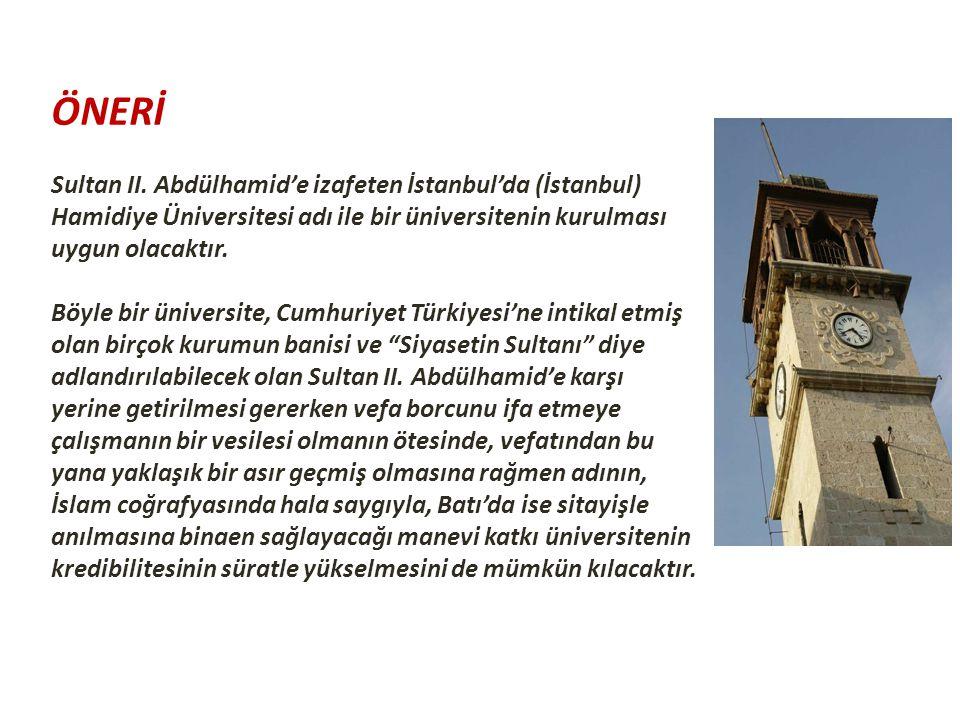 ÖNERİ Sultan II.
