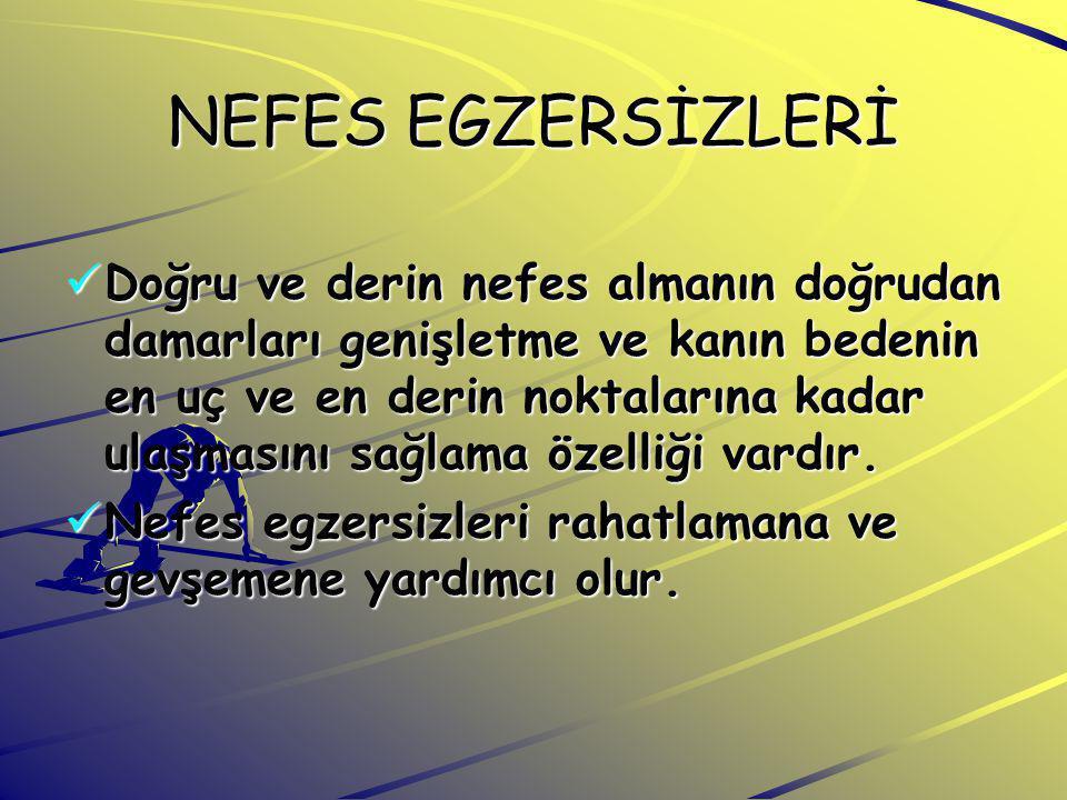 NEFES EGZERSİZLERİ