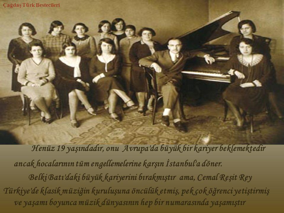 Çağdaş Türk Bestecileri