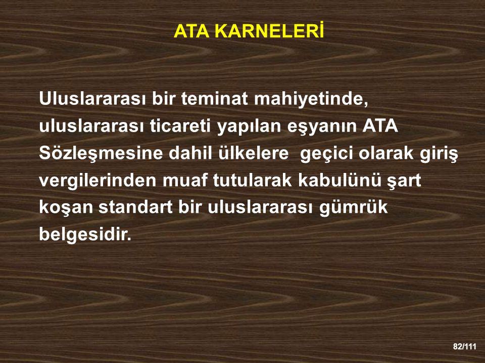 ATA KARNELERİ