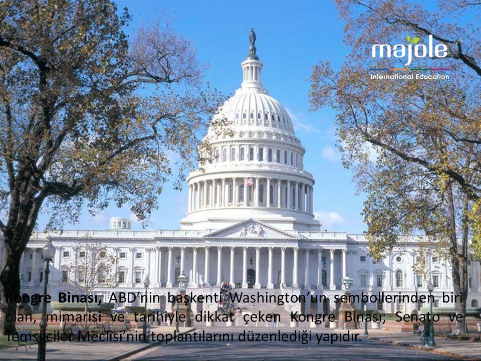 Kongre Binası, ABD'nin başkenti Washington'un sembollerinden biri olan, mimarisi ve tarihiyle dikkat çeken Kongre Binası; Senato ve Temsilciler Meclisi'nin toplantılarını düzenlediği yapıdır.