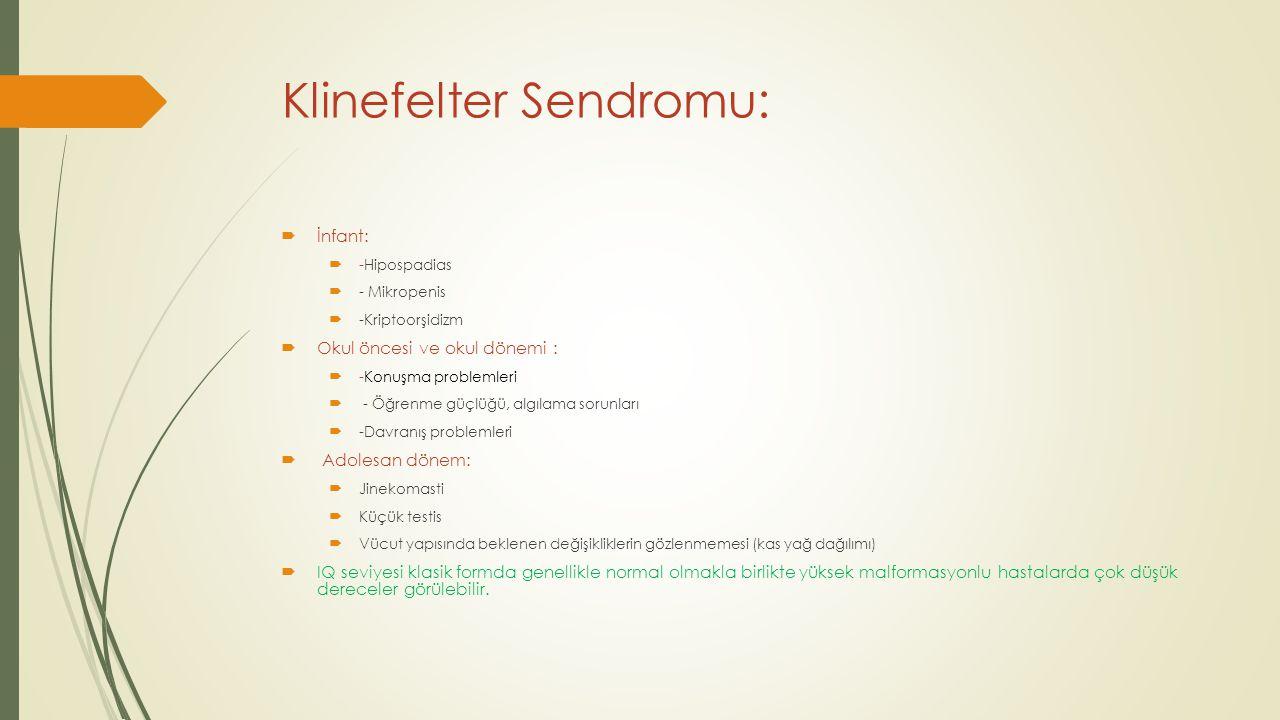Klinefelter Sendromu: