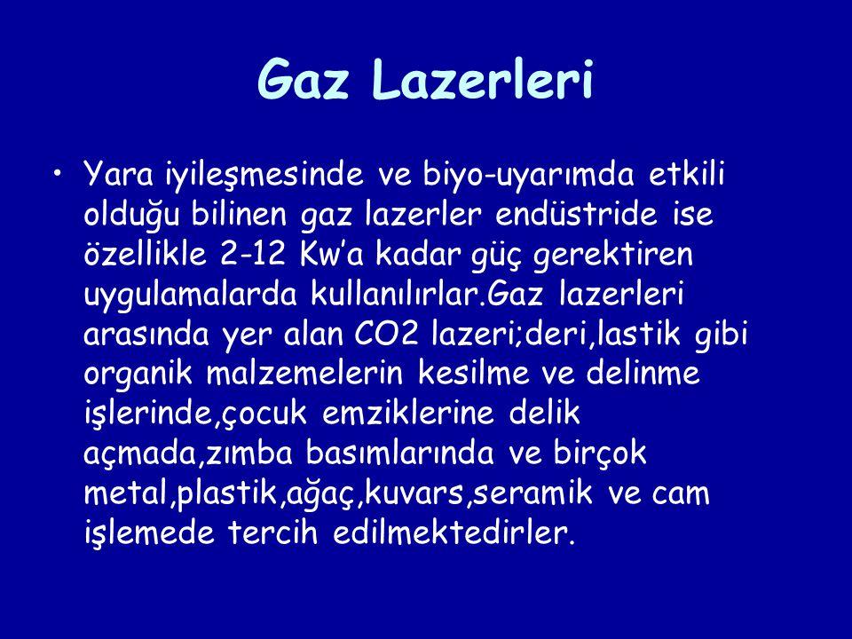Gaz Lazerleri