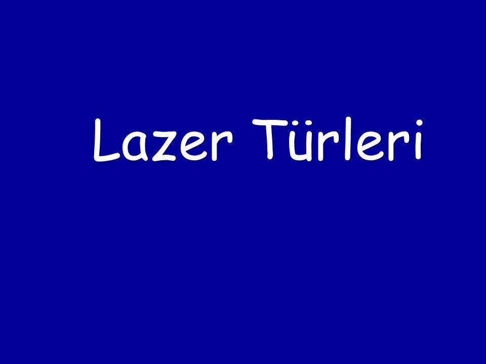 Lazer Türleri