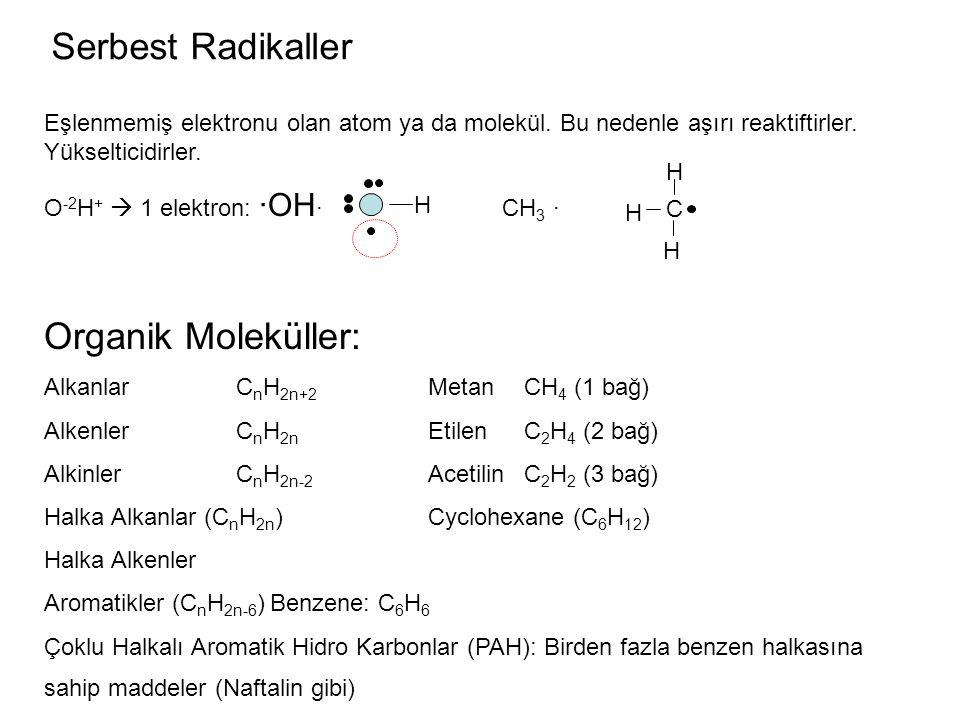 Serbest Radikaller Organik Moleküller: