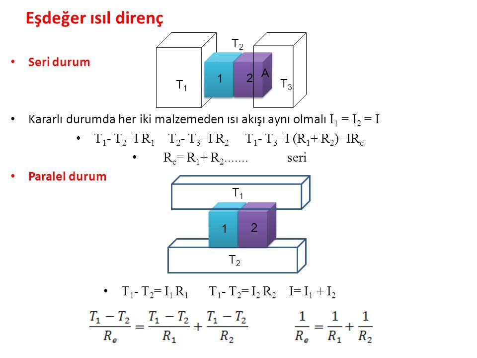 T1- T2=I R1 T2- T3=I R2 T1- T3=I (R1+ R2)=IRe