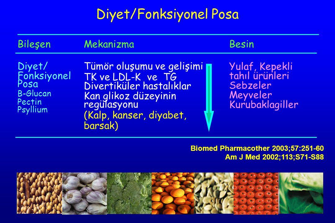 Diyet/Fonksiyonel Posa