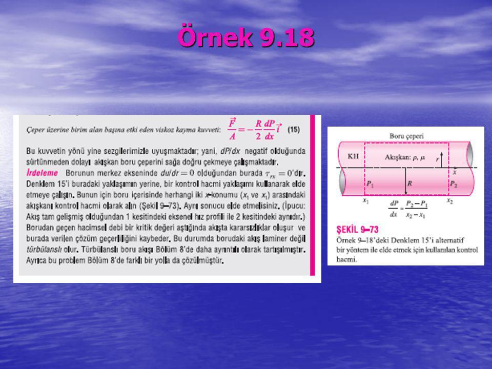 Örnek 9.18