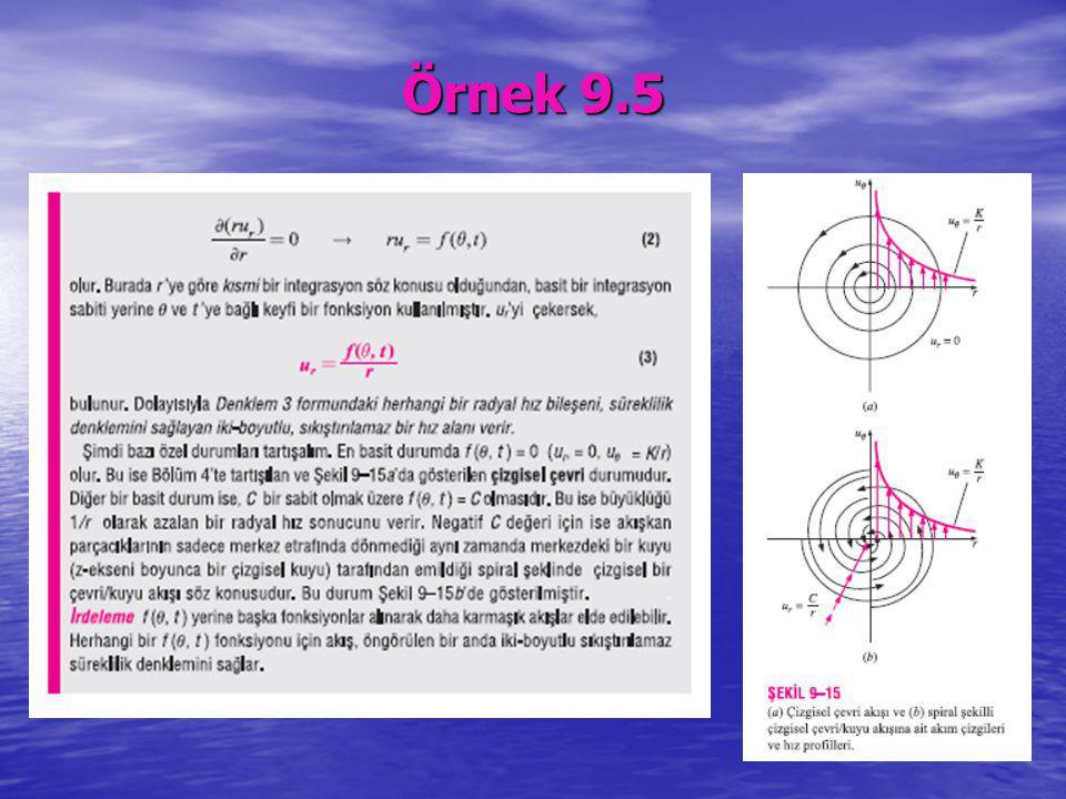 Örnek 9.5